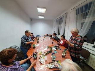 Galeria motylownia w klubie seniora