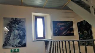 Galeria Wystawa malarstwa i wernisaż.