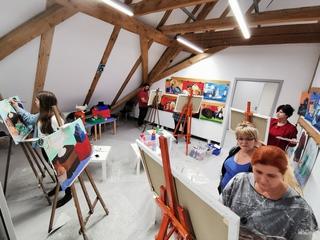 Galeria Oferta zajęć - Szkoła malarstwa