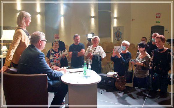 Galeria Spotkanie z Arturem Andrusem
